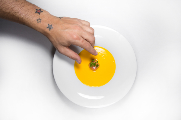 Carrot Soup with Guava